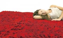 ラグマット170×240cm (Roses)