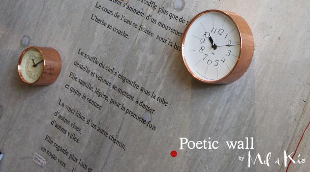 �������륹�ƥå��� Poetic wall �ʥݥ��ƥ��å������������ ����