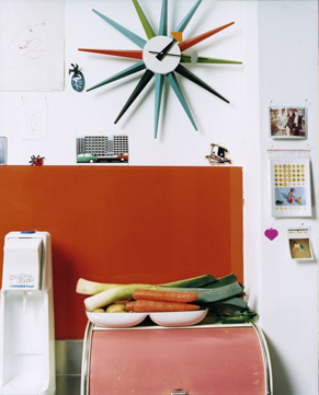 Sunburst Clock�ʥ���С����ȡ�����å��� / Vitra �ʥ����ȥ��