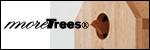 「moreTrees」の間伐材を使用した鳩時計