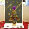 クリスマスカードツリー付き (CH-079)