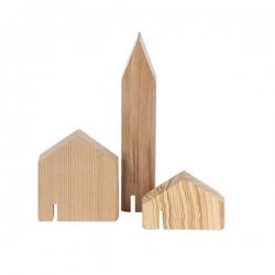 オブジェ Mini Houses 01 / 3個セット (mad lob)