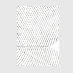 アートポスター / Leaf Lines green 50×70cm (Looking closer collection)