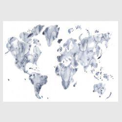 アートポスター / Blue world 100×70cm (Looking closer collection)