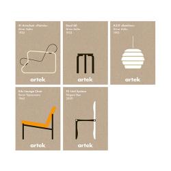 アイコンカード 5枚セット (Artek / アルテック)