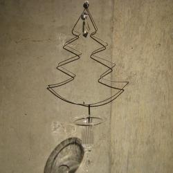 【アウトレット】 キャンドルホルダー ツリー(クリスマス)