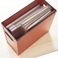 ボックスS A4 (LOFT × SEMPRE ファイバーケース)