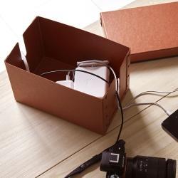 コード収納ボックス (LOFT × SEMPRE ファイバーケース)