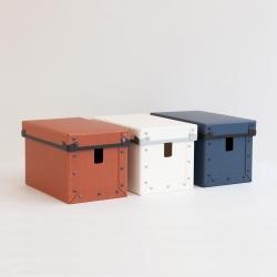 コード収納ボックス (ファイバーケース)