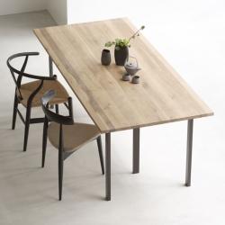<センプレ> テーブル (ミズナラ200cm+TL02×2)画像