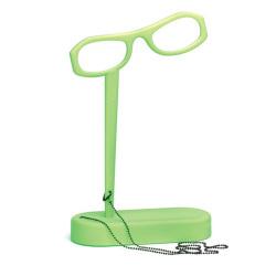 【アウトレット】 眼鏡型ルーペ / グリーン (SEE HOME)