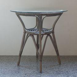 ラタン サイドテーブル  / トープ  (Sika Design)