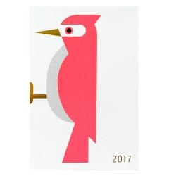 年賀状2017 / 横向きシリーズ キツツキ (D-BROS)