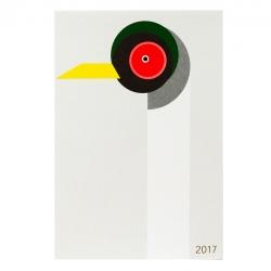 年賀状2017 / 図形シリーズ ツル (D-BROS)