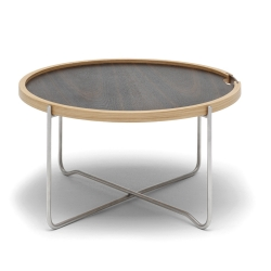 コーヒーテーブル オーク / スモークドオーク オイルフィニッシュ  (CH417)
