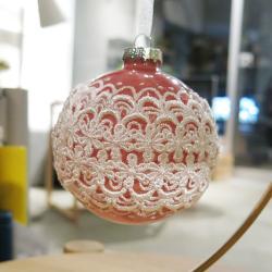 クリスマスオーナメント / レースボール4 (クリスマス2016)