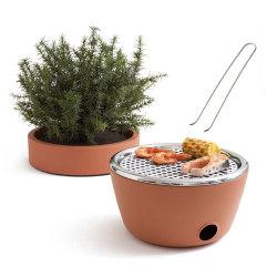 【アウトレット】 バーベキューセット / Hot Pot  (black+blum)