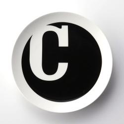 【アウトレット】 TYPO アルファベットプレート C (TYPO COLLECTION)