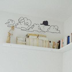 ウォールシール ・ 雲 (Poetic wall)