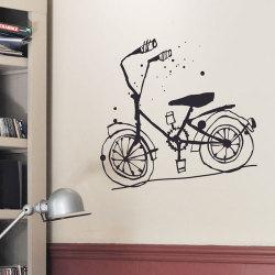 ウォールシール ・ 自転車 (Poetic wall)