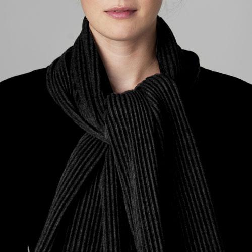 【限定】 スカーフS / ブラック (デザインハウスストックホルム)