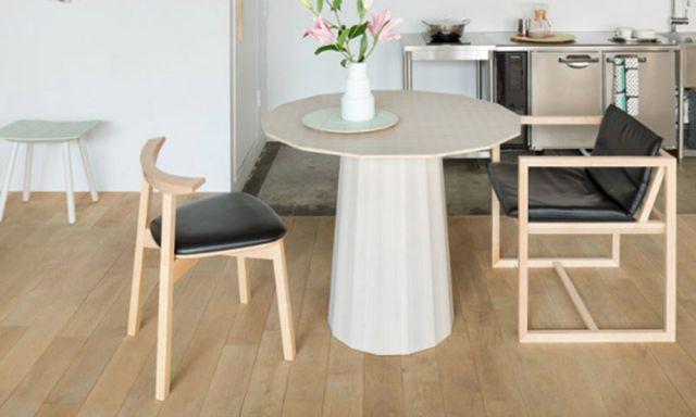 カラーウッド テーブル